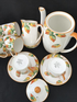 FOLEY - E Brain - ART DECO coffee set for six  - Espresso size cans/cups
